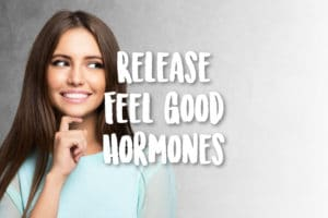 release feel good hormones