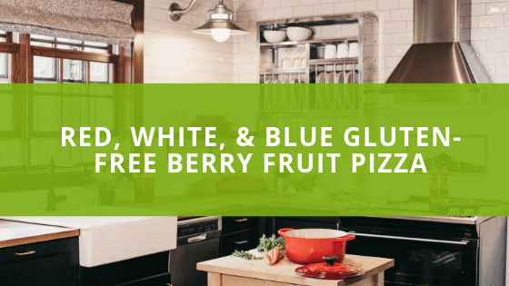 Red, White, & Blue Gluten-Free Berry Fruit Pizza