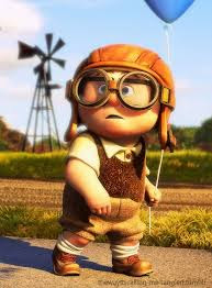 Carl from Up as a child