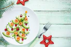 Christmas Tree shaped food